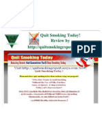 How to Quit Smoking without the Use of Pills - Review