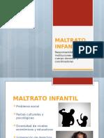 DIAPOSITIVAS MALTRATO INFANTIL