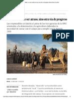 Foro CEPAL_ Lo rural no debe ser atraso, sino otra vía de progreso _ Planeta Futuro _ EL PAÍS