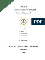 Airway Management (Kgd)