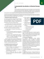 Intrucciones Revista Per Ciencias de La Salud