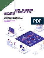Digital Assets - Tokenized Revolution in Financial Services