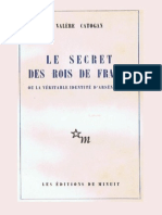 Catogan, Valere - Le Secret des rois de France (2014, Editions de Minuit, rééd. Laffont).epub