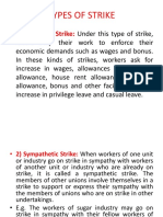 TYPES  RIGHT TO STRIKE