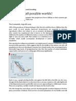 Demography Paradox - Reading