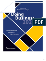 Trinidad and Tobago Doing Business 2020