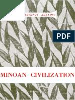 ALEXIOU, S., Minoan civilization