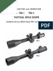 Millet TSR Manual