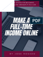Make A Full-Time Income Online