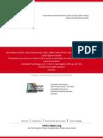 Londoño ET Al. (2006). Propiedades Psicométricas y Validación de La Escala de E