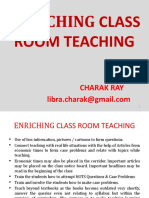 ENRICHING CLASSROOM TEACHING