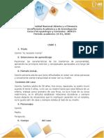 Caso 01  Psicopatologia y Contextos camilo