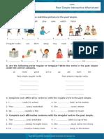 Past Simple Interactive Worksheet