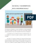 LA SEGURIDAD SOCIAL Y SUS BENEFICIOS