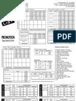 Cakrawala Price List