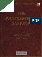 D&D 3E D20 - Sourcebook - The Quintessential Samurai.pdf