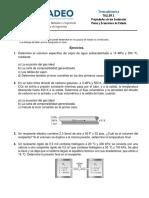 Taller 3 - Propiedades de las sustancias puras y ecuaciones de estado (SM)