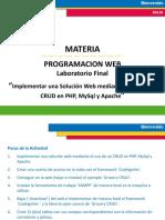 programacionWeb_Implementar una Solución Web mediante el uso de un CRUD en PHP, MySql y Apache