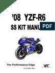 2008 R6 Kit Manual