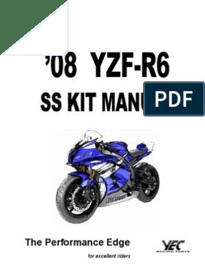 2008 R6 Kit Manual   Clutch   R Throttle Wiring Harness on