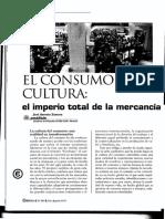 El Consumo como cultura