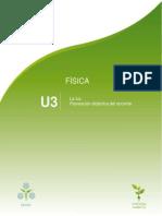 Planeación TFIS U3. La Luz