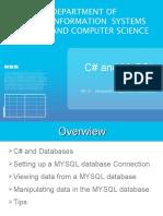 14-C# MySQL