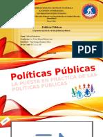 Políticas Públicas, marzo 2020