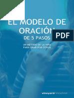 EL MODELO DE ORACIÓN DE 5 PASOS