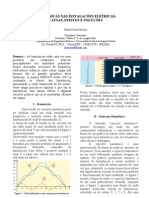 UFES - Artigo - HARMÔNICAS NAS INSTALAÇÕESS ELÉTRICAS - CAUSAS, EFEITOS E SOLUÇÕES