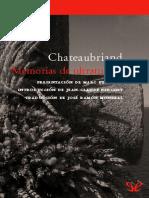 Memorias de ultratumba - Francois-Rene de Chateaubriand.epub