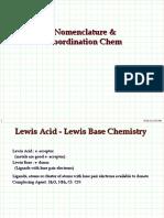 Basic Coordination Chemistry