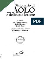 Dizionario Paolo Lettere