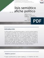Análisis semiótico de afiche político de la campaña de Evo Morales (2014)