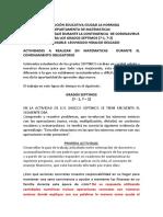 12. PLAN DE CLASE MATEMÁTICAS