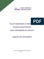 GUÍAS DE TALLER ENFERMERÍA DEL ADULTO  2018