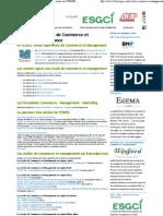 Ecoles de Commerce et de Management en France, zoom sur l'ESDES _ école Supérieur de Commerce et de Management