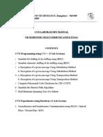 CCN Lab Manual Programs