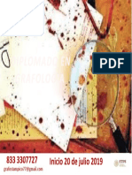 sangre diplomado grafologia 20 de julio