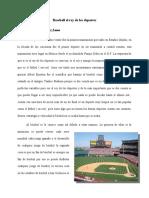 Baseball el rey de los deporte1 arituclo