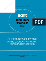 Short-sea shipping in the economy of inland transport in europe round table gothenburg 1st-2nd april 1982 la navigation maritime a courte distance dans leconomie des transports europeens-1.pdf
