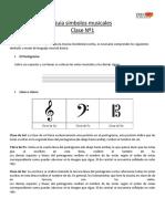 Guía símbolos musicales