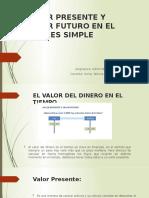VALOR PRESENTE Y VALOR FUTURO EN EL INTERES SIMPLE 1042020.pptx