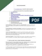 TALLER DE INCAPACIDADES,,