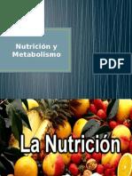Nutrición y Metabolismo