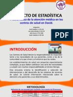 PROYECTO DE ESTADÍSTICA_Problemática de la atención médica
