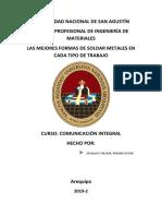PELIGROS AMBIENTALES Y LA SALUD DE LA SOLDADURA