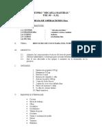 Hoja de Operacion 12 de pasteleria fina 2014
