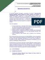 3.0 - Defensa Ribereña Kiteni - Memoria Descriptiva