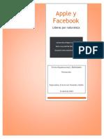 Apple y Facebook - Teoria organizacional eje 4